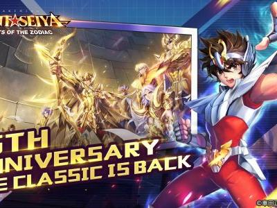Saint Seiya Awakening: Knights of the Zodiac is Available for Pre-Registration