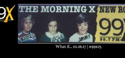 For 99X's 25th anniversary, Morning X will reunite October 26