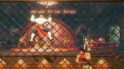 Vega's Street Fighter II stage, Ed, and balance update coming to Street Fighter V next week