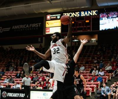 Yussuf's double-double leads LBSU past Southern Utah 82-71