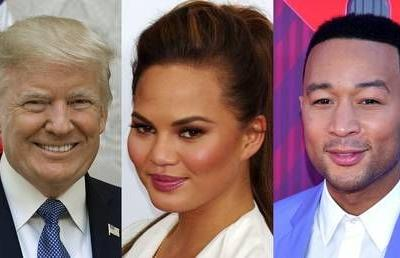 Trump, John Legend and 'filthy-mouthed' Chrissy Teigen in Twitter spat about criminal justice reform