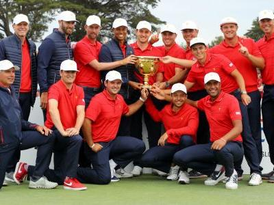 Presidents Cup 2019: Starstruck USA team showers winning captain Tiger Woods in praise