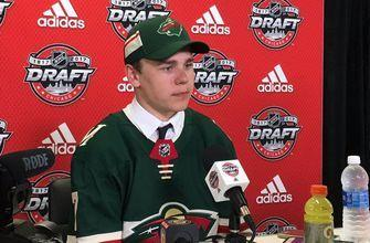 Wild select young RW Lodnia with their first pick in 2017 NHL Draft