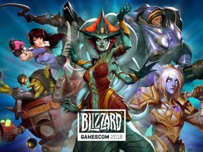Blizzard Gamescom 2018 Schedule Revealed for August 22nd