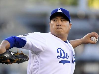 Ryu strong again as Dodgers get past Marlins 2-1