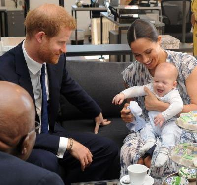 Prince Harry reportedly joked 'gingers stick together' after Archie played with other red-headed kids