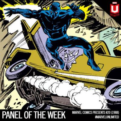Black Panther goes for a wild ride in this week's