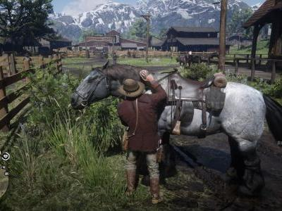 Red Dead Redemption 2: How to brush your horse