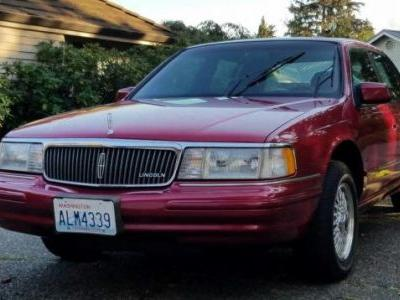 At $3,800, Could This 1994 Lincoln Continental Be A True Executive Perk?