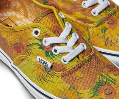 The Van Gogh Museum and Vans Collaborate on a Wearable Collection of Masterworks