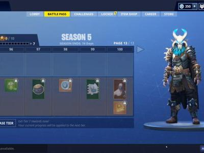 Fortnite Ragnarok Skin: See Season 5 Battle Pass's Awesome New Level 100 Reward