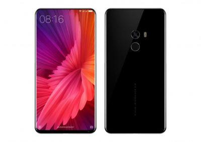 Xiaomi Mi MIX 2 Rendered by Benjamin Geskin, Inspired by Philippe Starck; Galaxy S8 Comparison is Also Here