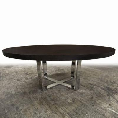 50 Awesome Metal Base Dining Table Pics