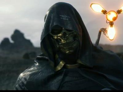 Here is your first look at Troy Baker's character in Death Stranding