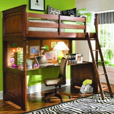 29 Lovely Loft Bed with Desk Pics