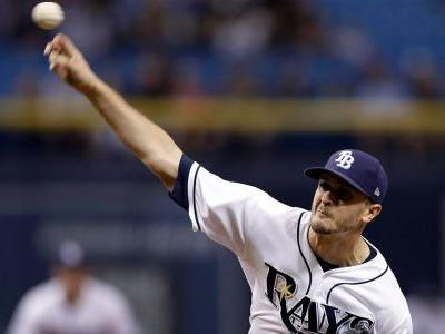 Rays send righty Jake Odorizzi to Twins for prospect