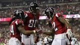 Falcons handle Seahawks to reach NFC title game