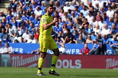 Watch: Liverpool keeper Alisson commits horrific blunder, allows Leicester City score