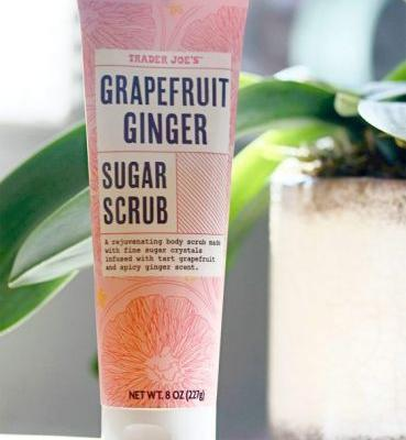 Scrub-a-dub-LOVE! I'm Sweet on Trader Joe's Grapefruit Ginger Sugar Scrub