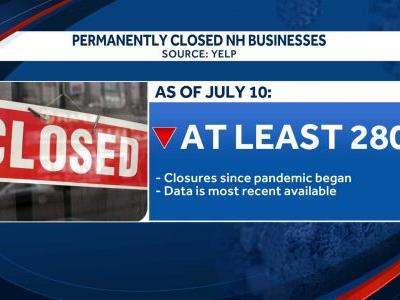 Hundreds of NH businesses have permanently closed since pandemic began, Yelp reports