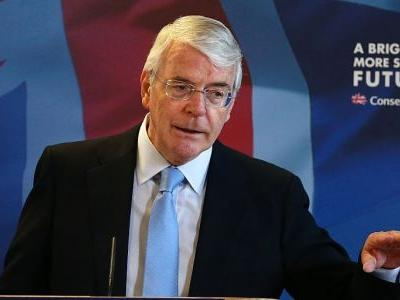 Former Conservative Prime Minister John Major tells voters to reject Boris Johnson