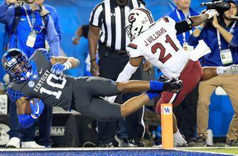 No. 17 Kentucky continues hot start with 24-10 win over South Carolina