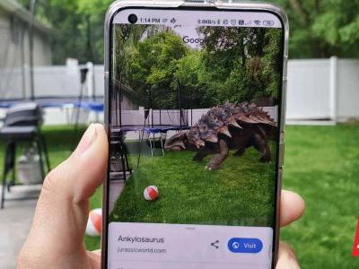 Now You Can See Dinosaurs Up Close In 3D AR With Google Search