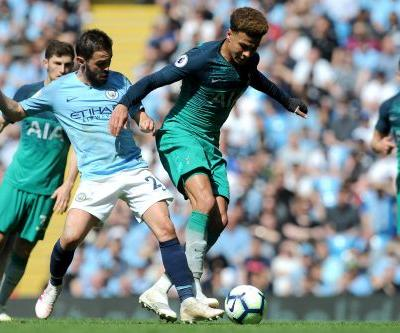 Foden's 1st EPL goal sends City top, dents Spurs top-4 bid