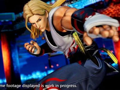 The King of Fighters 15 Trailer Showcases Andy Bogard