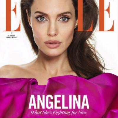 Angelina Jolie is ELLE's March 2018 cover star. It's Editor in