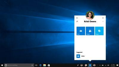 Microsoft delays Windows 10's upcoming 'My People' experience