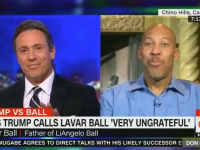 Twitter Reacts to LaVar Ball's Insane CNN Interview: 'The Highest Level of Performance Art'