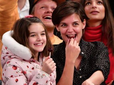 Suri Cruise Is Living Her Best Life, Makes Another Rare Appearance With Mom Katie Holmes