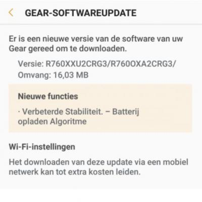 Samsung Gear S3 Update Fixes Battery Bug & Overheating Issues