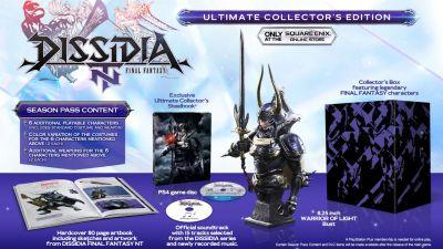 Dissidia Final Fantasy NT launches next January, you can poke your eye out with its collector's edition