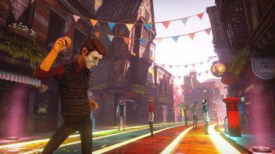 We Happy Few is coming to PS4 now and it's being published by Gearbox