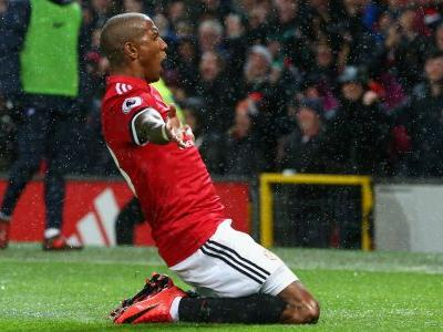 Pogba: I won't fight Young over Manchester United free-kick duties
