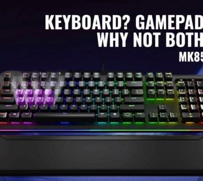 Cooler Master MK850 gaming keyboard with Aimpad launches for €200