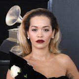Rita Ora Oozes Old Hollywood Glam at the Grammys