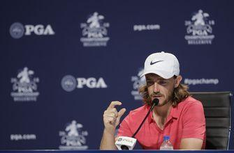 The Latest: Fleetwood looking for a better Saturday at PGA
