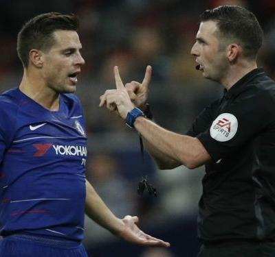 'English referees cannot use VAR!' - Chelsea boss Sarri slams penalty call in Spurs semi-final'