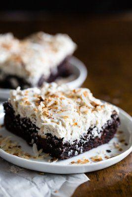 Fluffy Toasted Coconut Vanilla Bean Frosting