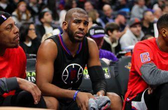 Report: Chris Paul out 6-8 weeks with torn thumb ligament