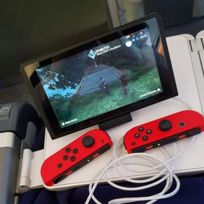 How to play Nintendo Switch on a plane