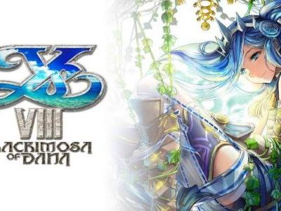 Ys VIII: Lacrimosa of DANA Now Available for Nintendo Switch