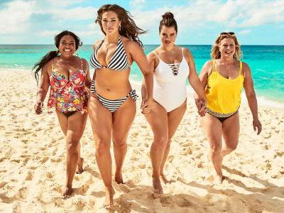 Ashley Graham Flaunts Her Awesome Curves in a Steamy New Shoot for Her Swimsuits For All Line