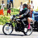 "Beyoncé and JAY-Z Are ""on the Run"" While Filming a New Music Video in Jamaica"