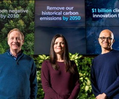 Microsoft Plans to be carbon negative by 2030