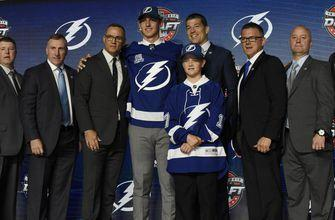 Lightning go defense by taking Cal Foote with the 14th pick