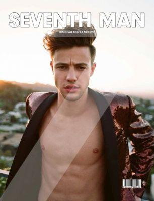 Cameron Dallas in Dolce&Gabbana on the cover of Seventh Man